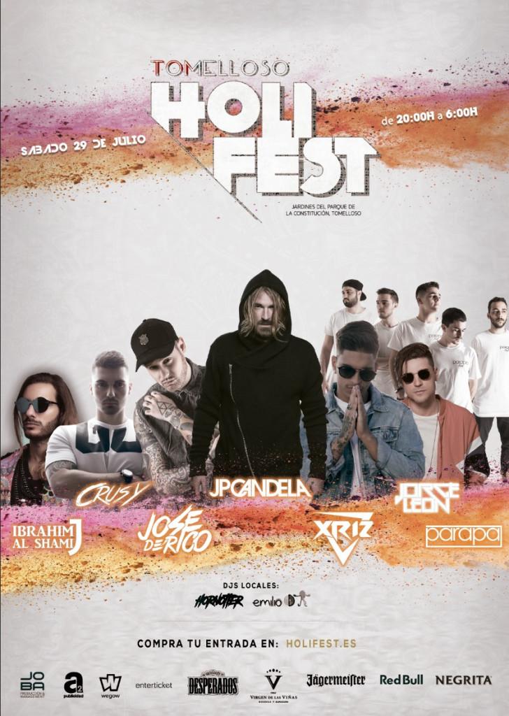 cartel definitivo Holi Fest