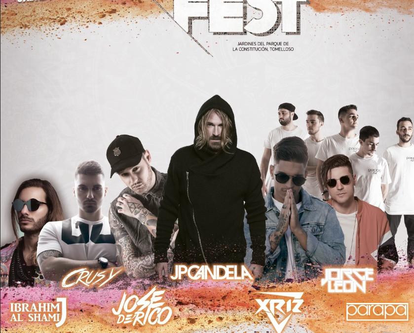 """Los mejores artistas latinos y dj´s nacionales se dan cita en el festival """"Tomelloso Holi Fest"""""""
